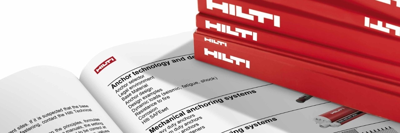 Hilti technical literature