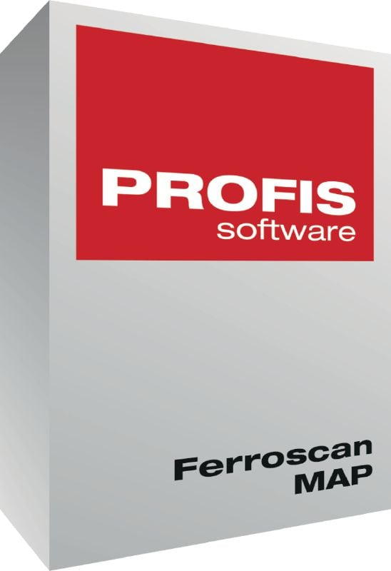 PROFIS Ferroscan MAP PC-Software